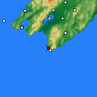 Nearby Forecast Locations - Ngawi - Χάρτης