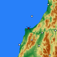 Nearby Forecast Locations - Westport - Χάρτης