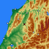 Nearby Forecast Locations - Reefton - Χάρτης