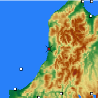 Nearby Forecast Locations - Karamea - Χάρτης