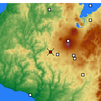 Nearby Forecast Locations - Raetihi - Χάρτης