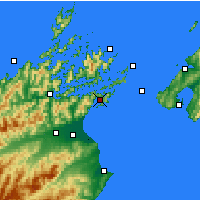 Nearby Forecast Locations - Picton - Χάρτης