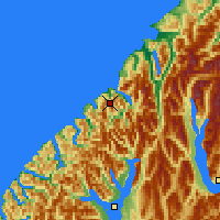 Nearby Forecast Locations - Milford Sound - Χάρτης