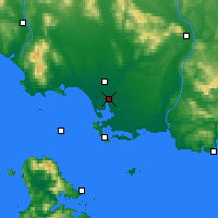 Nearby Forecast Locations - Invercargill - Χάρτης