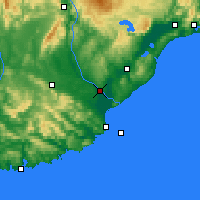 Nearby Forecast Locations - Balclutha - Χάρτης