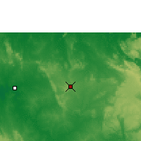 Nearby Forecast Locations - Pine Creek - Χάρτης