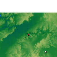 Nearby Forecast Locations - Timber Creek - Χάρτης