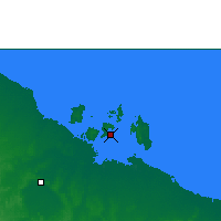 Nearby Forecast Locations - Centre Island - Χάρτης