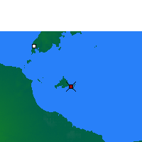 Nearby Forecast Locations - Sweers Island - Χάρτης