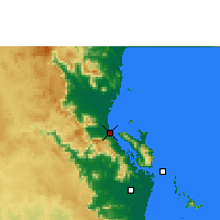 Nearby Forecast Locations - Cardwell - Χάρτης
