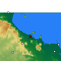 Nearby Forecast Locations - Townsville - Χάρτης