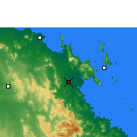 Nearby Forecast Locations - Proserpine - Χάρτης
