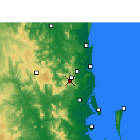 Nearby Forecast Locations - Maleny - Χάρτης