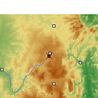 Nearby Forecast Locations - Stanthorpe - Χάρτης
