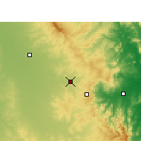 Nearby Forecast Locations - Oakey - Χάρτης