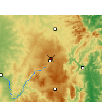 Nearby Forecast Locations - Applethorpe - Χάρτης