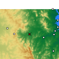Nearby Forecast Locations - Gatton - Χάρτης