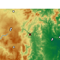 Nearby Forecast Locations - Tabulam - Χάρτης