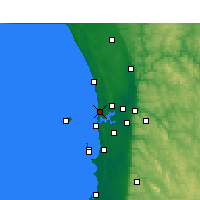 Nearby Forecast Locations - Swanbourne - Χάρτης