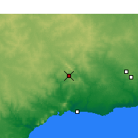 Nearby Forecast Locations - Ravensthorpe - Χάρτης