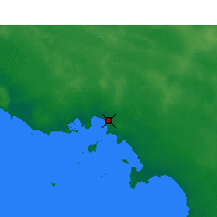 Nearby Forecast Locations - Ceduna - Χάρτης