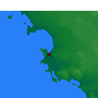 Nearby Forecast Locations - Streaky Bay - Χάρτης