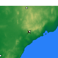 Nearby Forecast Locations - Cleve - Χάρτης