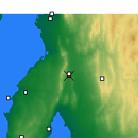 Nearby Forecast Locations - Snowtown - Χάρτης