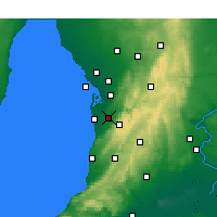 Nearby Forecast Locations - Kent Town - Χάρτης