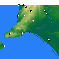 Nearby Forecast Locations - Hindmarsh Isl. - Χάρτης