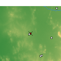 Nearby Forecast Locations - Wyalong - Χάρτης