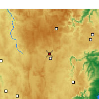 Nearby Forecast Locations - Goulburn - Χάρτης