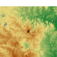 Nearby Forecast Locations - Nullo Mount. - Χάρτης