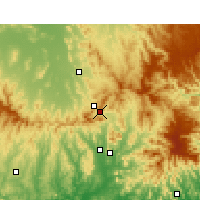 Nearby Forecast Locations - Murrurundi - Χάρτης