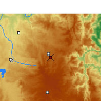 Nearby Forecast Locations - Glen Innes - Χάρτης
