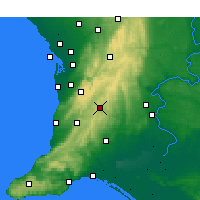 Nearby Forecast Locations - Mount Barker - Χάρτης
