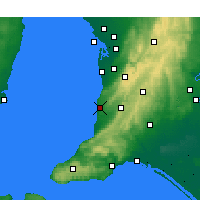 Nearby Forecast Locations - Noarlunga - Χάρτης