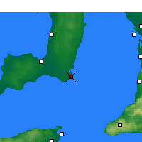 Nearby Forecast Locations - Edithburgh - Χάρτης
