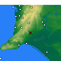 Nearby Forecast Locations - Strathalbyn - Χάρτης