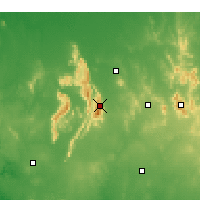 Nearby Forecast Locations - Stawell - Χάρτης