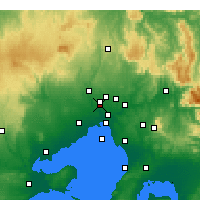 Nearby Forecast Locations - Goldstream - Χάρτης