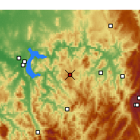 Nearby Forecast Locations - Hunters Hill - Χάρτης