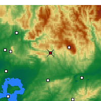Nearby Forecast Locations - Noojee - Χάρτης