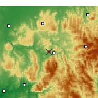 Nearby Forecast Locations - Eildon - Χάρτης
