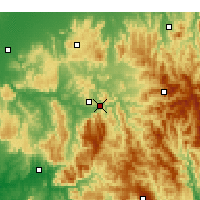 Nearby Forecast Locations - Eildon Dam - Χάρτης