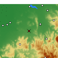 Nearby Forecast Locations - Benalla - Χάρτης