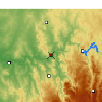 Nearby Forecast Locations - Gundagai - Χάρτης