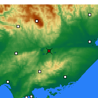 Nearby Forecast Locations - Latrobe Valley - Χάρτης