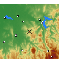 Nearby Forecast Locations - Beechworth - Χάρτης