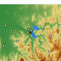Nearby Forecast Locations - Bonegilla - Χάρτης